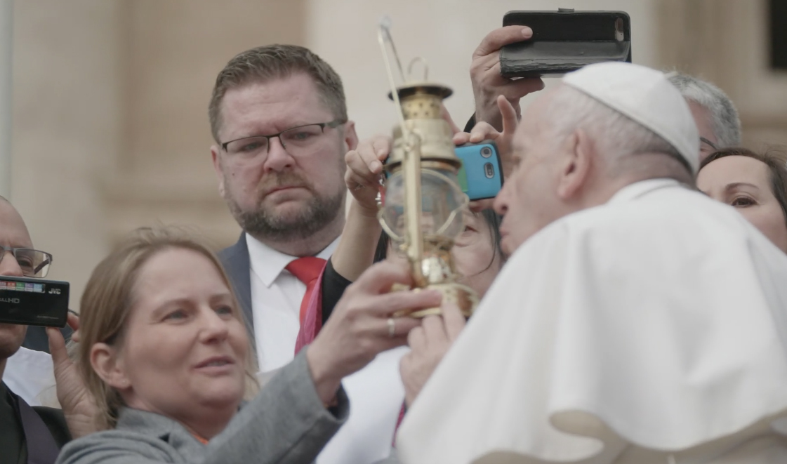 The Hiroshima Flame comes to the Vatican for the first time in history